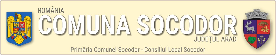 COMUNA SOCODOR – JUDEȚUL ARAD